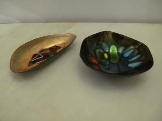 ENAMELLED COPPER BOWLS