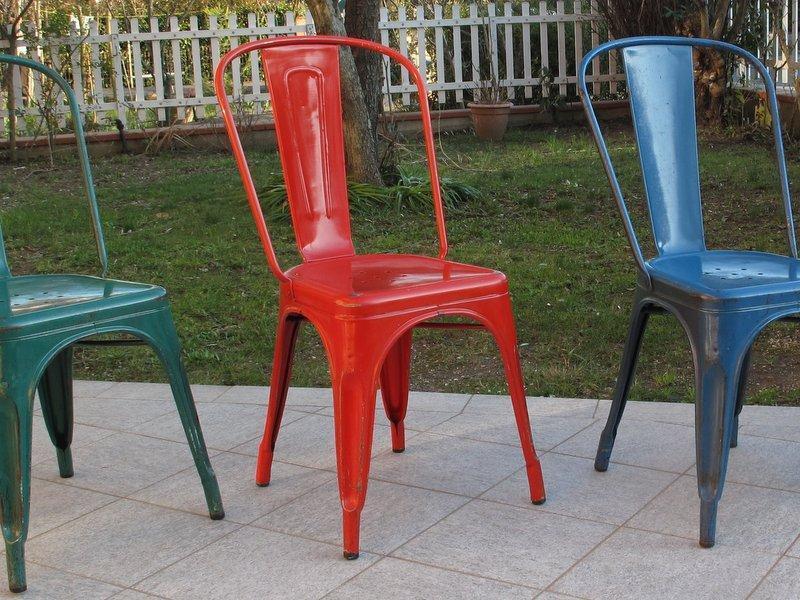 noleggio sedie Tolix
