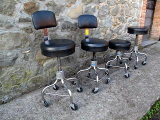 FOUR AMERICAN STOOLS