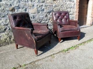 CLUB ARMCHAIRS 1940s