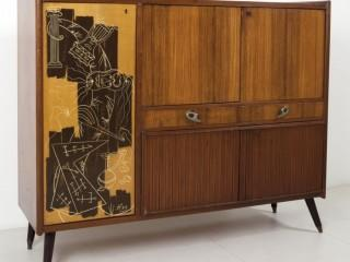 1959 ROSEWOOD CABINET