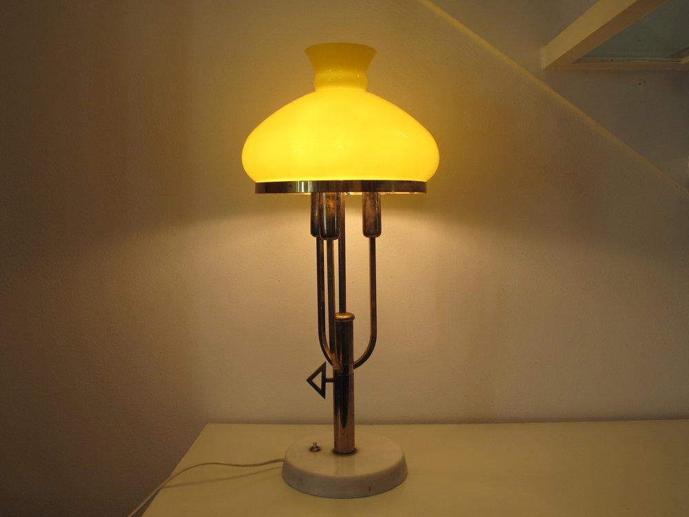 lampada da tavolo anni 50