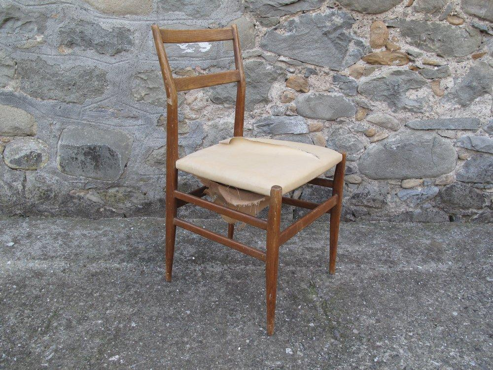 Rovistando modernariato 20th century design sedia - Sedia leggera gio ponti ...