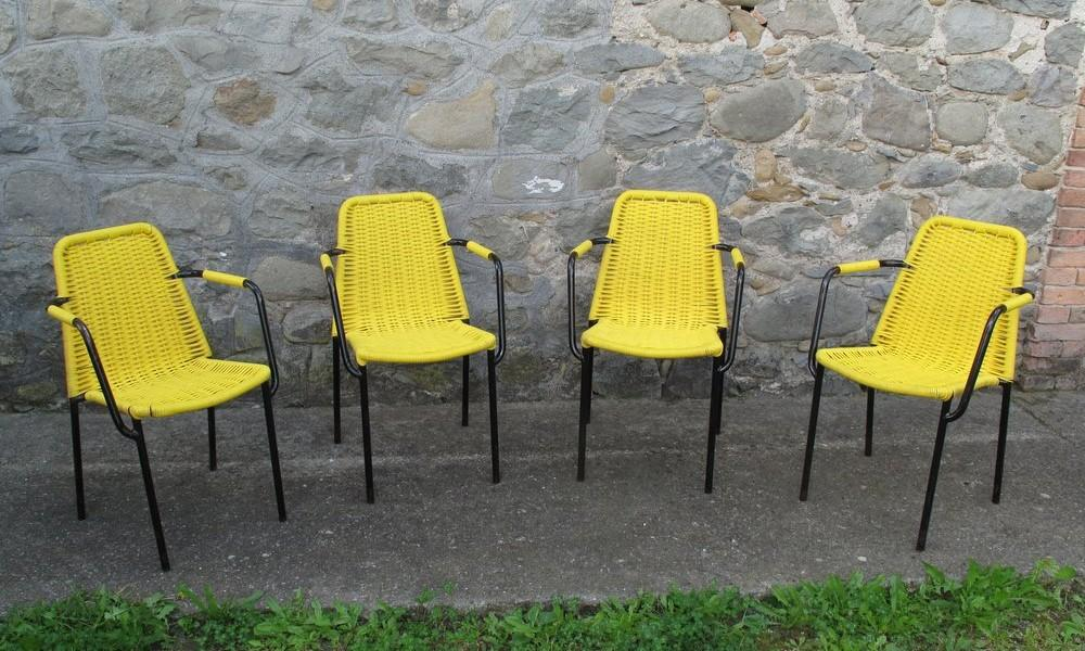 YELLOW BAR ARMCHAIRS 2