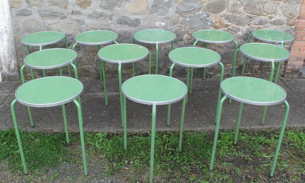 BAR TABLES LOT GREEN