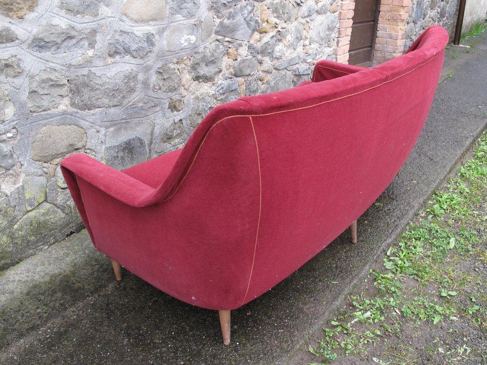 Rovistando – Modernariato, 20th Century Design divano curvo anni 50