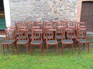 BISTROT CHAIRS LOT