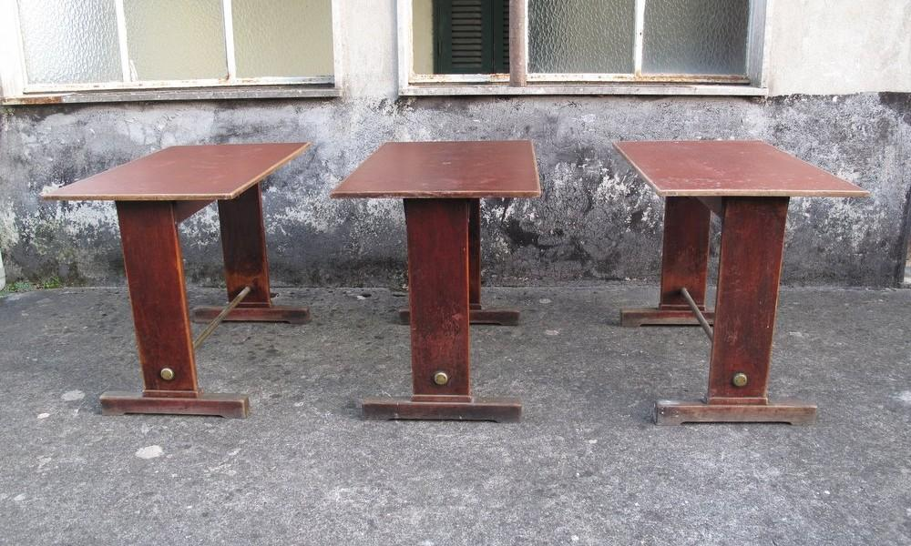BISTROT TABLES 1940s