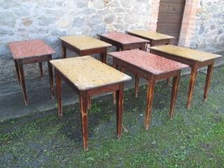 7 OLD TAVERN TABLES