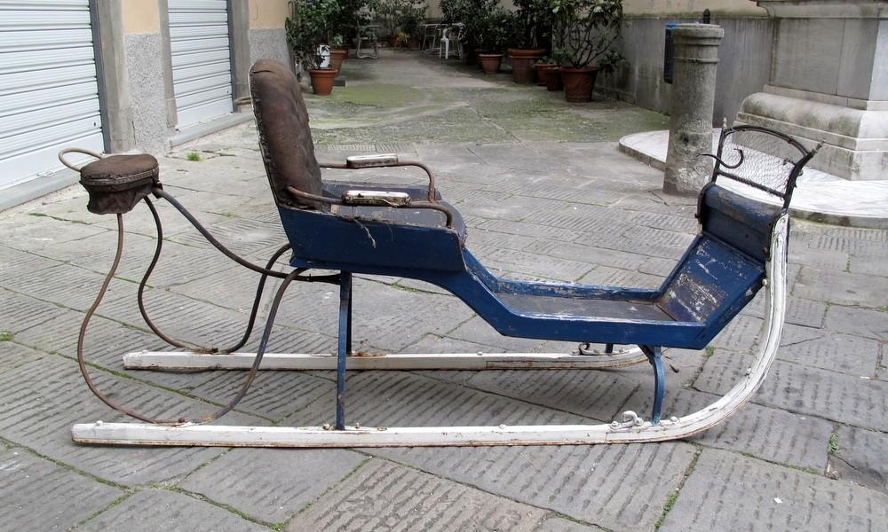 ANTIQUE HORSE SLED