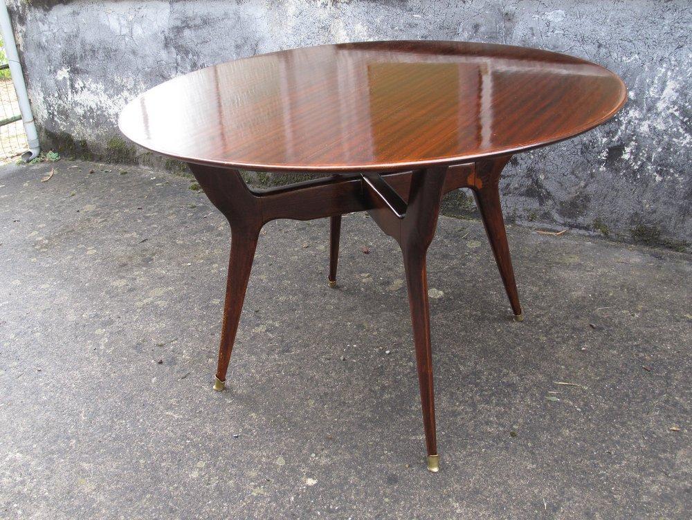 Rovistando modernariato 20th century design tavolo - Dimensioni tavolo tondo 4 persone ...