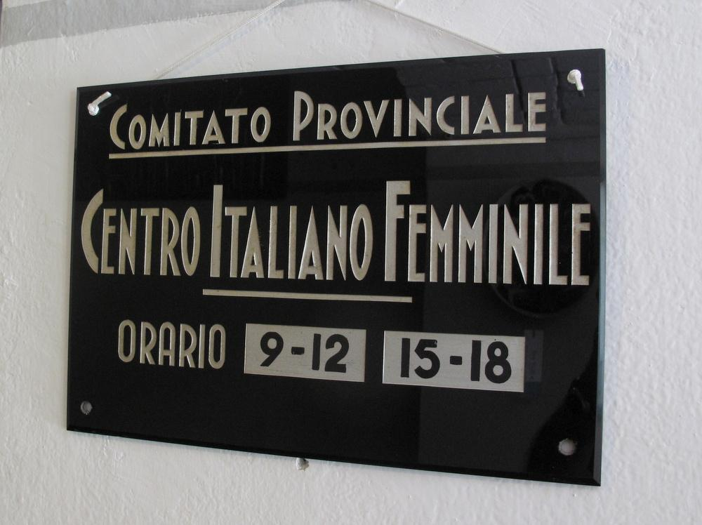 CENTRO ITALIANO FEMMINILE