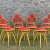 CHAIRS AND STOOLS LOT 1970S (1)