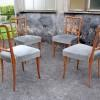 4 CHAIRS 1950s ULRICH STYLE (1)