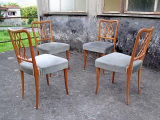 FOUR CHAIRS ULRICH STYLE