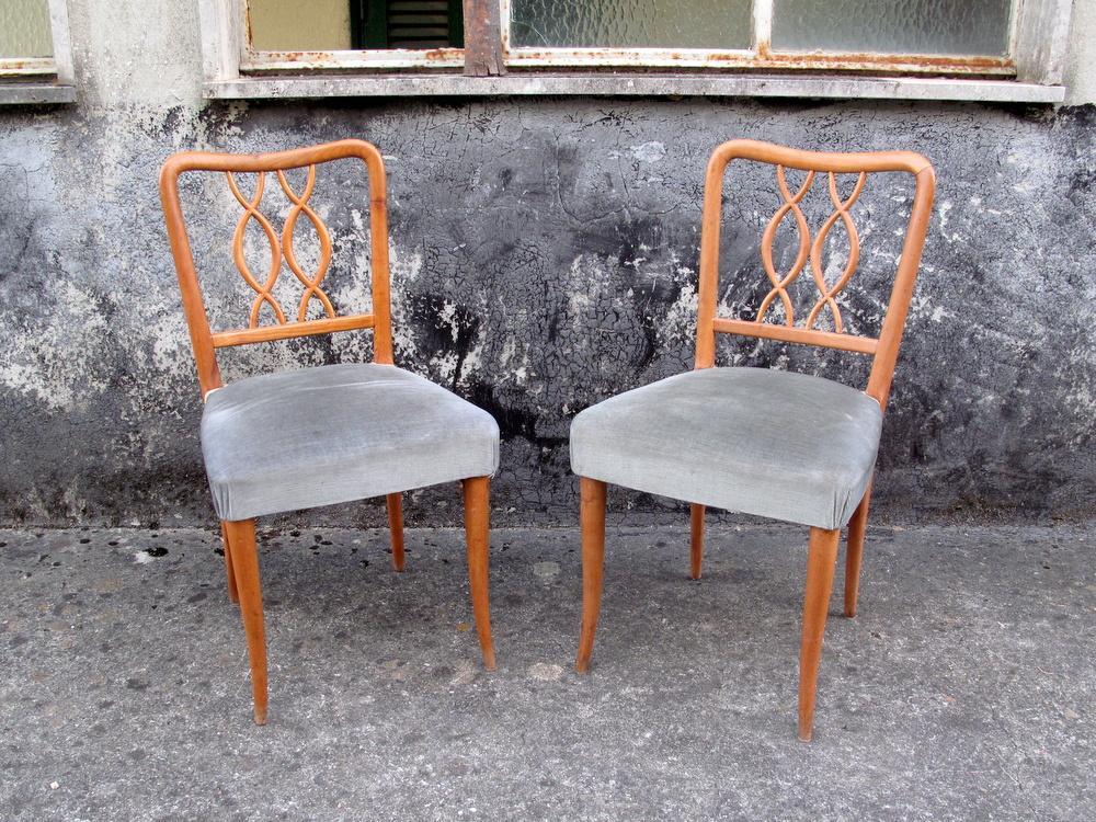 quattro sedie stile Ulrich