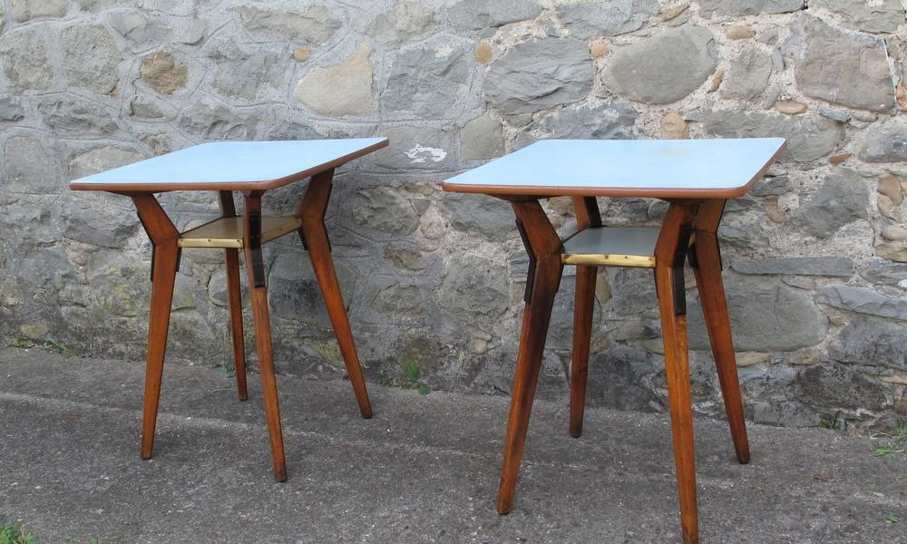 BISTRO TABLES PAIR