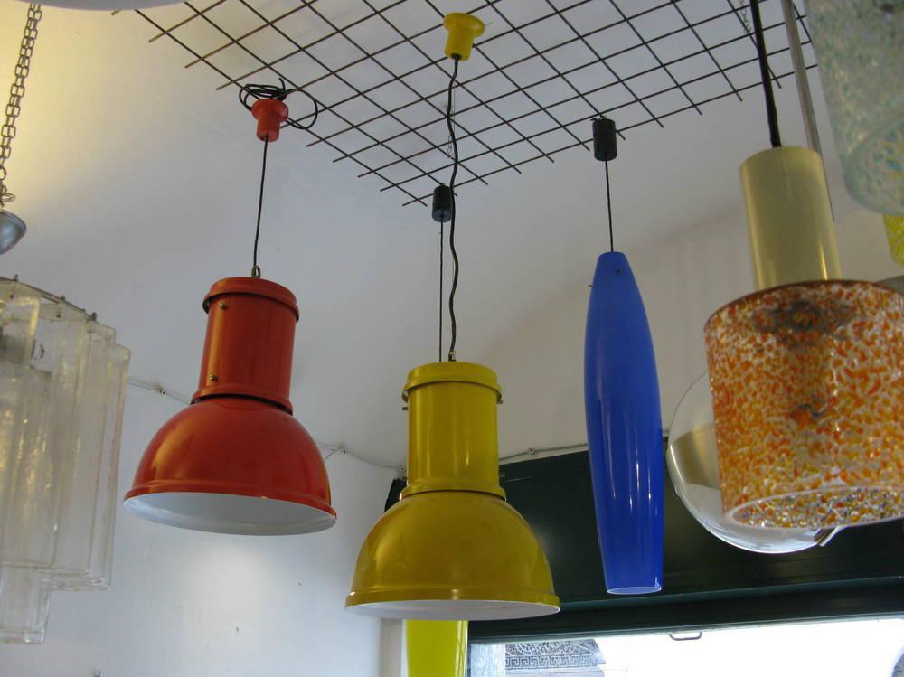 Lampara Candle yellow 1965