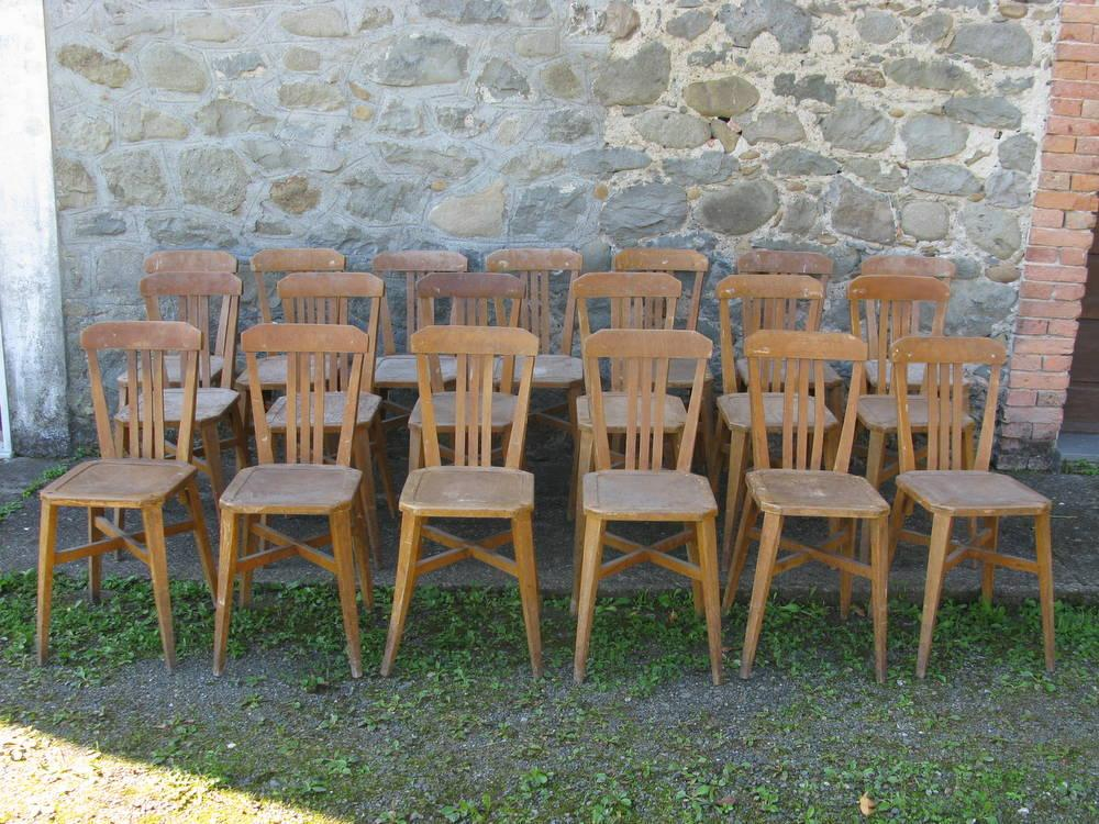 lotto di sedie bistrot STELLA
