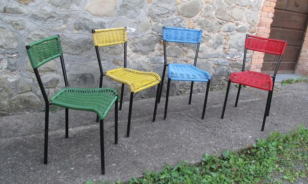 FOUR BAR CHAIRS