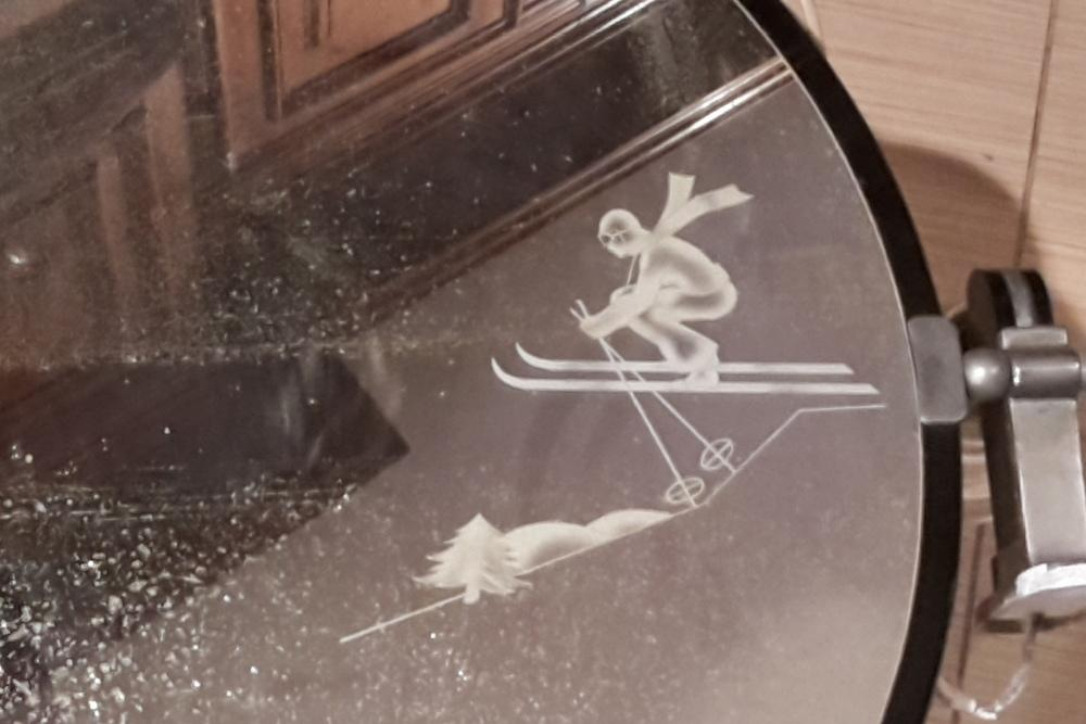 Specchio anni '50 stile Gio Ponti