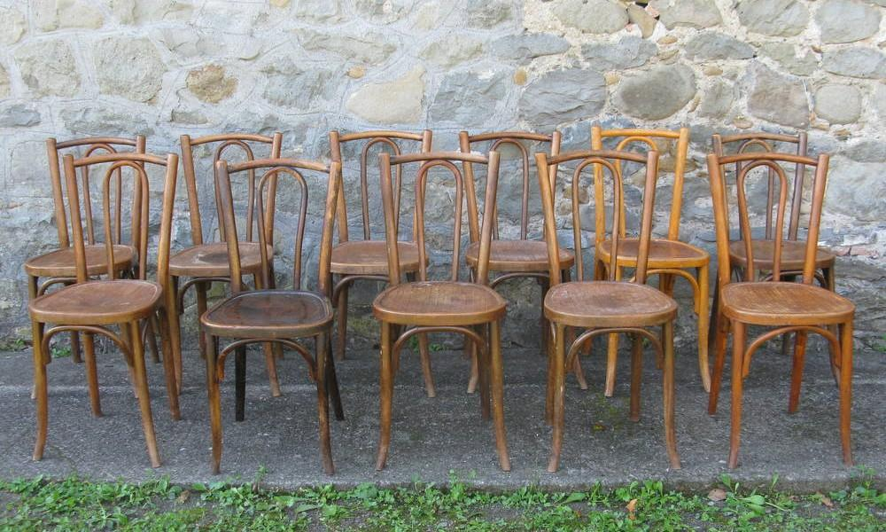 BAUMANN BISTRO CHAIRS LOT