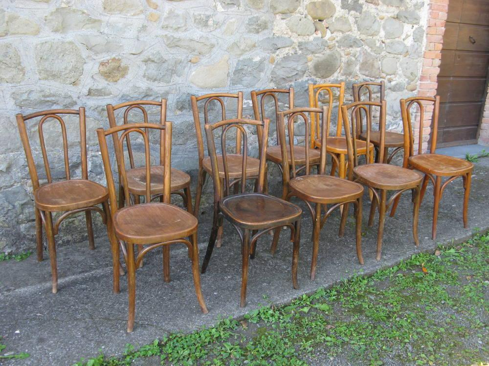 lotto di sedie Baumann