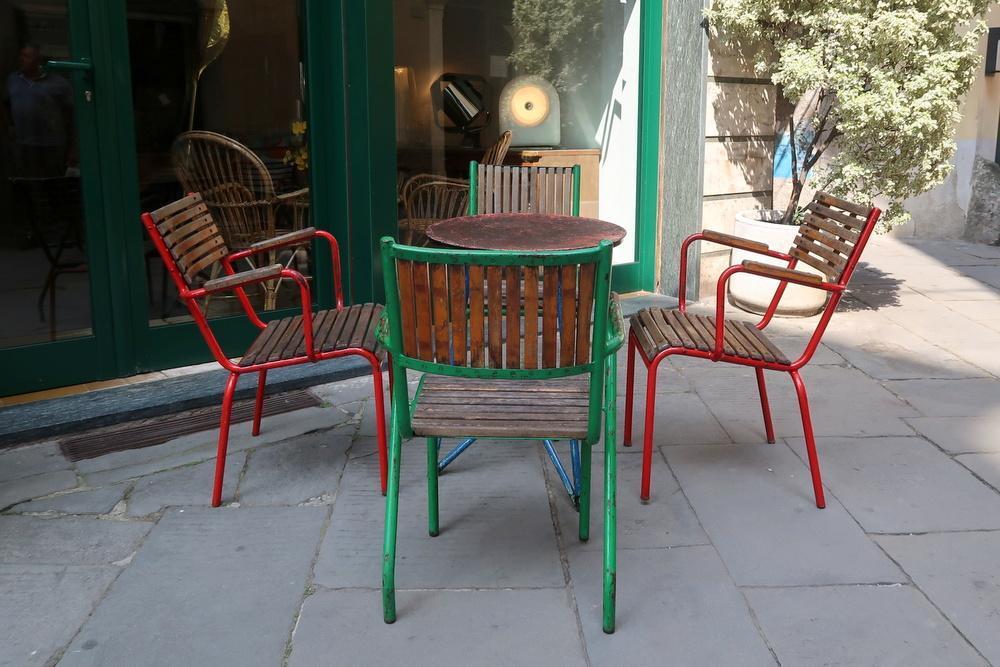 4 sedie da giardino