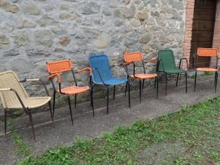 MISMATCHED BAR CHAIRS