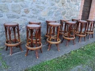 BAMBOO BAR STOOLS SET