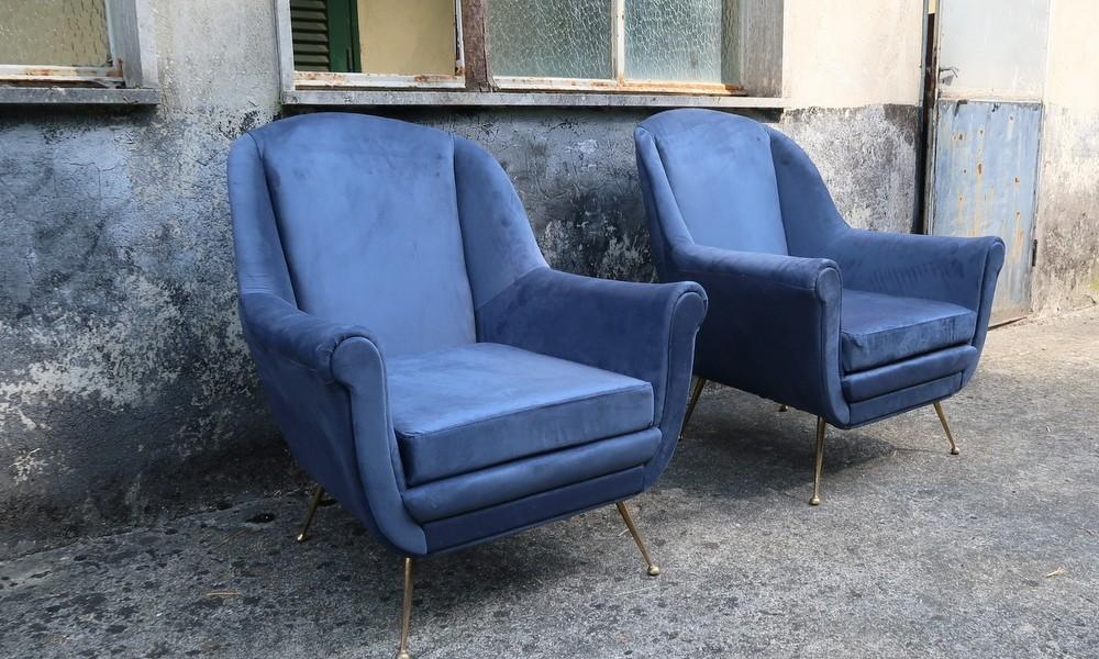 TWO ARMCHAIRS 1950s
