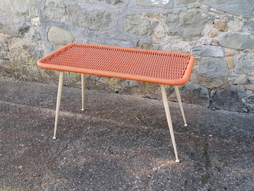 lotto 8 sedie bar in plastica anni 60