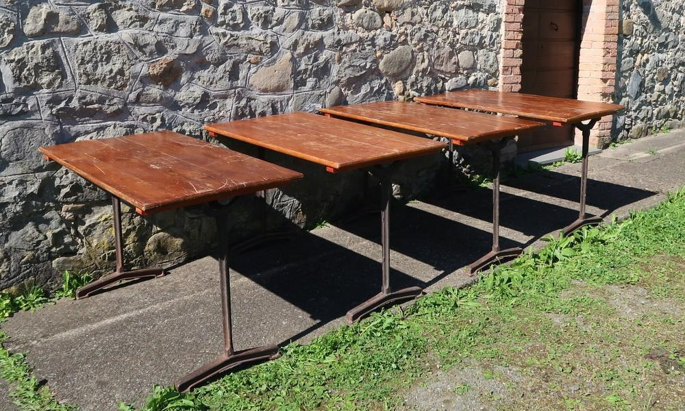 BISTROT TABLES 1930s