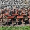 8 BAUMANN BISTRO CHAIRS (8)