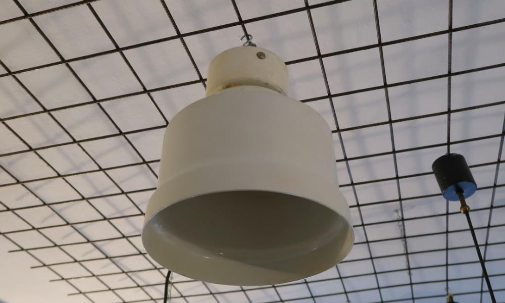 GINO SARFATTI CEILING LIGHT