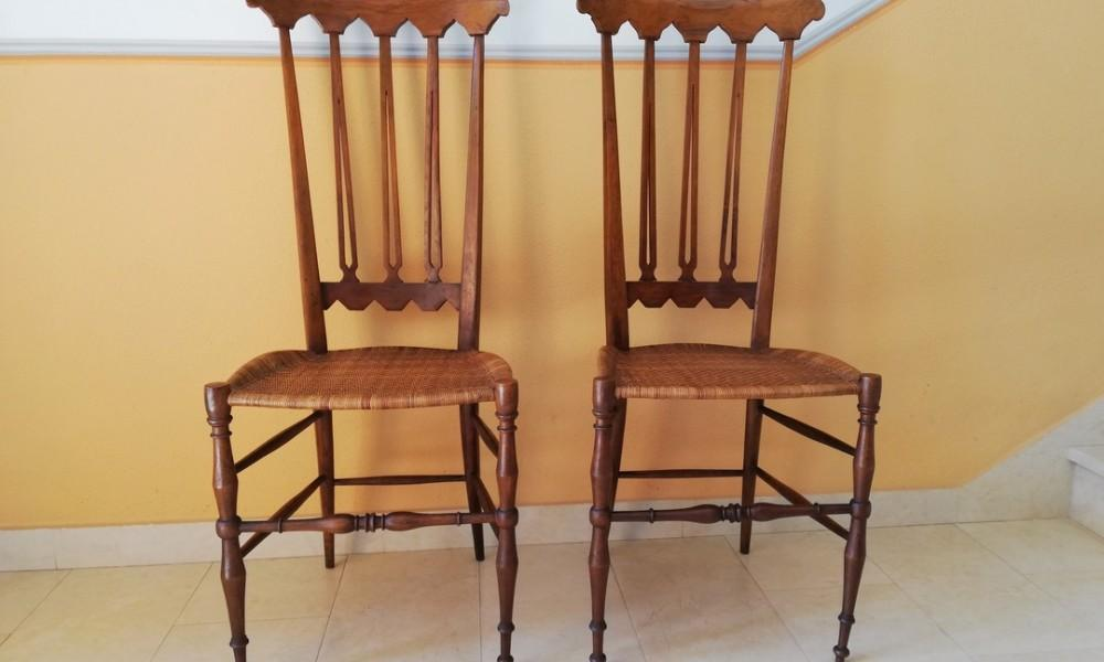 CHIAVARI HIGH BACK CHAIRS