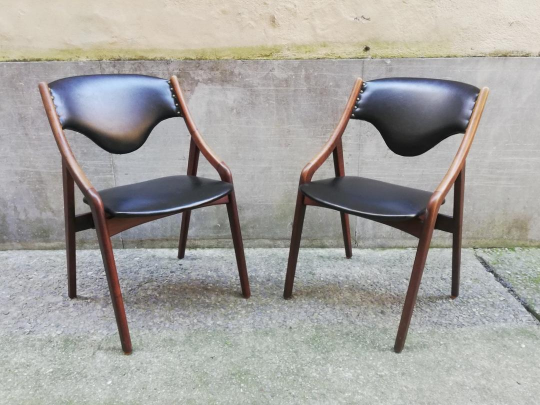 5 sedie danesi anni 50