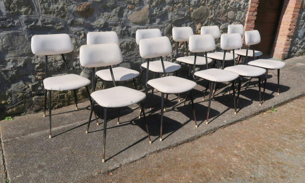11 DINING CHAIRS