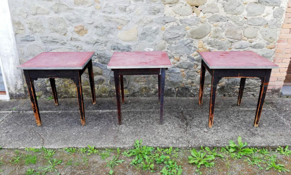 3 OLD TAVERN TABLES