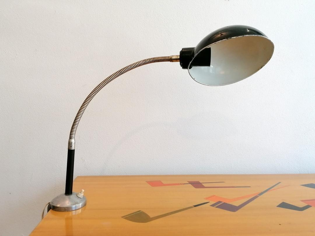 clamp-on table lamp 1950s