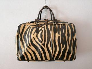 ZEBRA TRAVEL BAG