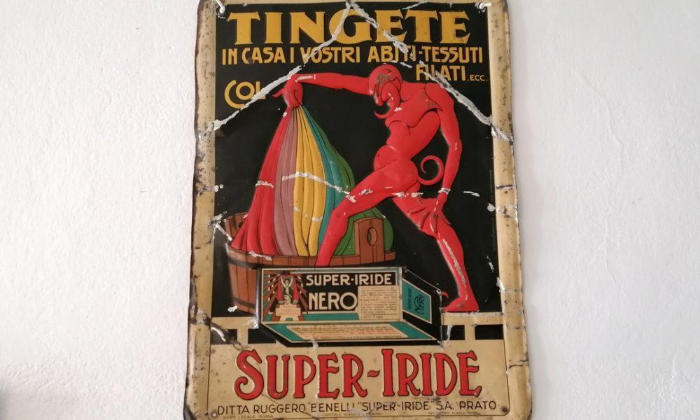 SUPER-IRIDE  SIGN