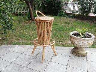 BAMBOO HIGH STOOL